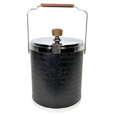 Ice Bucket Barware Midcentury, 1960
