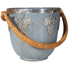 Ice Bucket by Arne Bang, in Glazed Stoneware, circa 1940-1960, Denmark