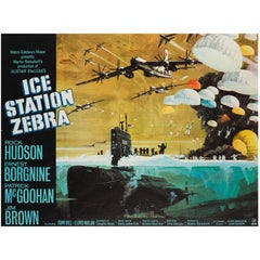 Ice Station Zebra UK Film Poster, Bob McCall, 1968