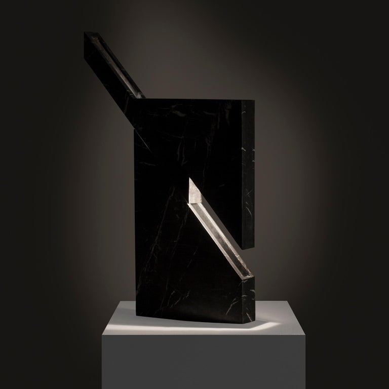 Modern Iceberg Marble Lamp by Carlos Aucejo For Sale