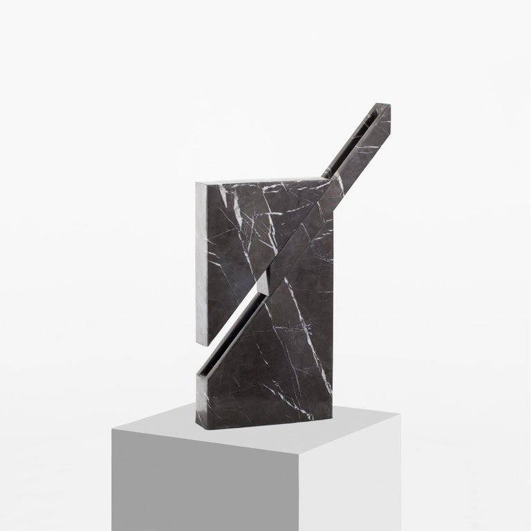 Spanish Iceberg Marble Lamp by Carlos Aucejo For Sale