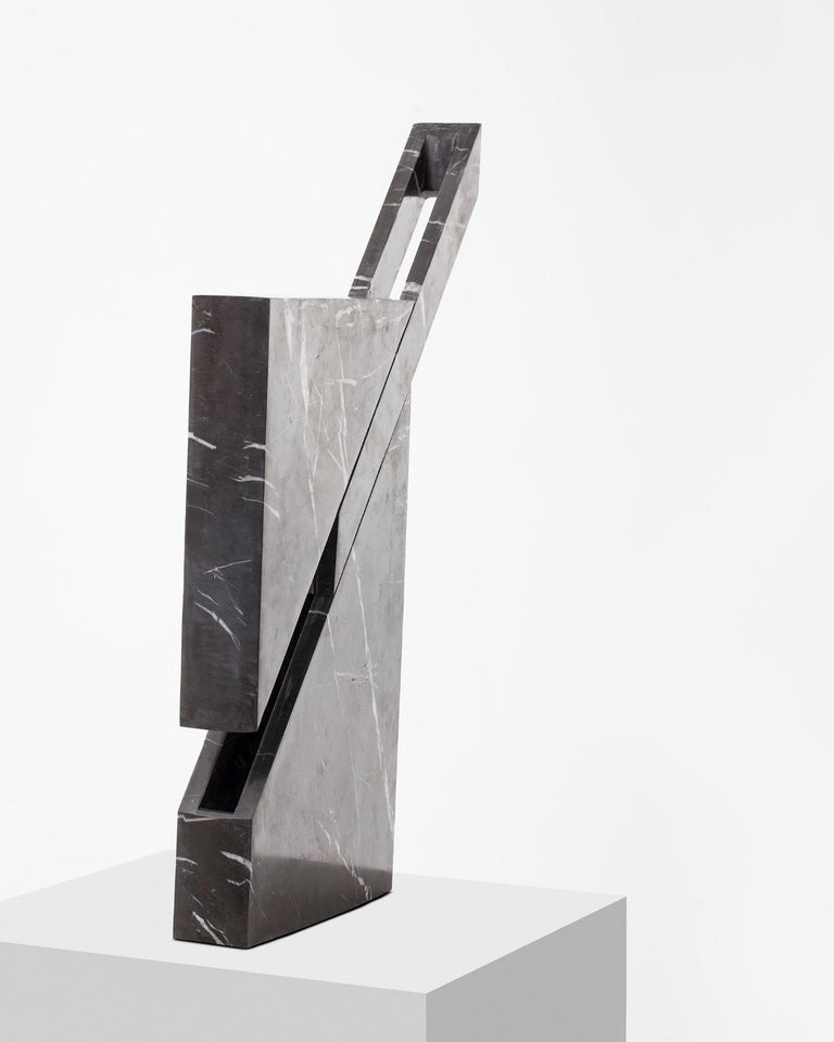Iceberg Marble Lamp by Carlos Aucejo In New Condition For Sale In Collonge Bellerive, Geneve, CH