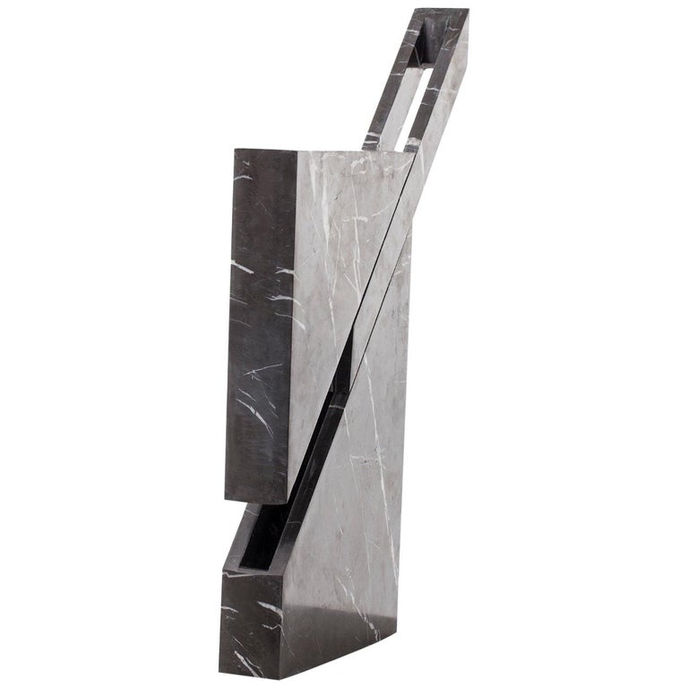 Iceberg Marble Lamp by Carlos Aucejo For Sale