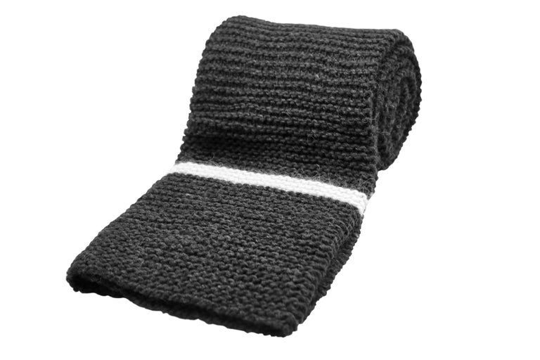 Hand-Crafted Icelandic Pure New Wool Blanket Krafla Hand Knitted For Sale