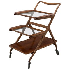 Ico and Luisa Parisi Model 65 Midcentury Serving Cart for De Baggis, 1952