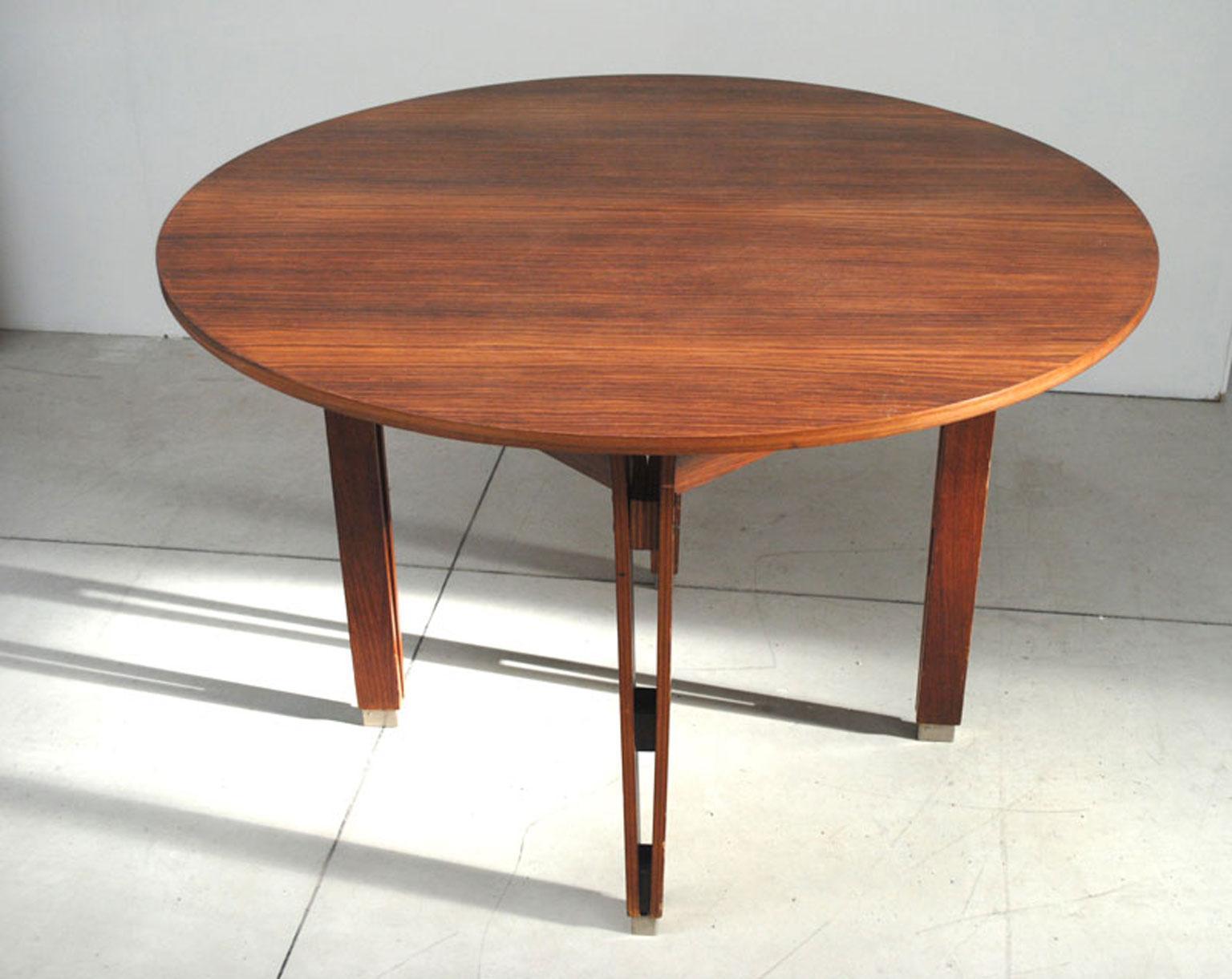 Ico U0026 Luisa Parisi Vintage Round Wooden Table