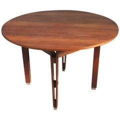 Ico & Luisa Parisi Vintage Round Wooden Table