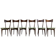Ico Parisi and Luisa Parisi Dining Chairs for Ariberto Colombo, 1948, Set of 6