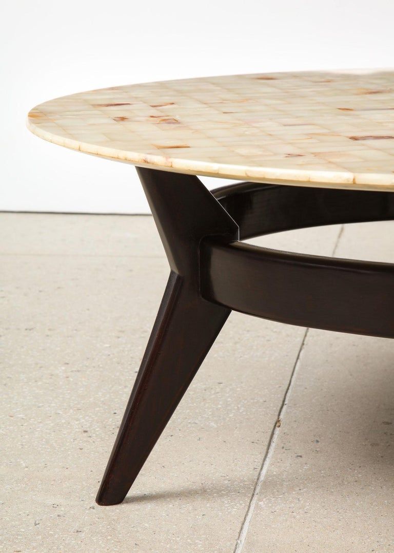 Italian Ico Parisi Cocktail Table For Sale
