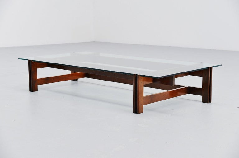 Ico Parisi Coffee Table Cassina Italy 1962 In Good Condition For Sale In Roosendaal, Noord Brabant