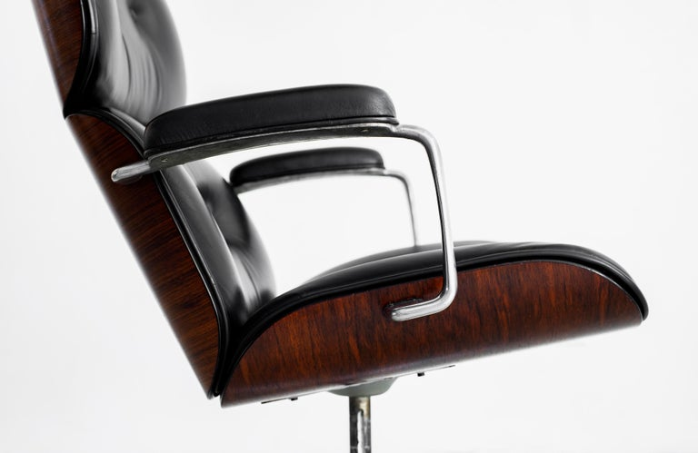 Leather Ico Parisi Desk Chair For Sale