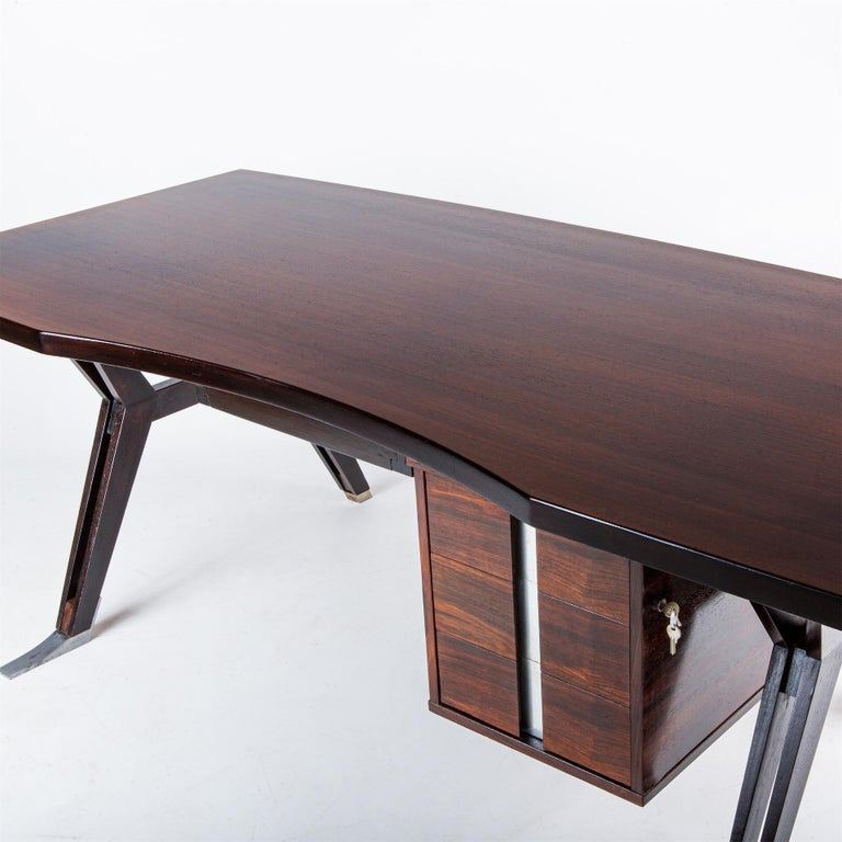 Mid-20th Century Ico Parisi Desk for MIM, Italy, 1960s For Sale