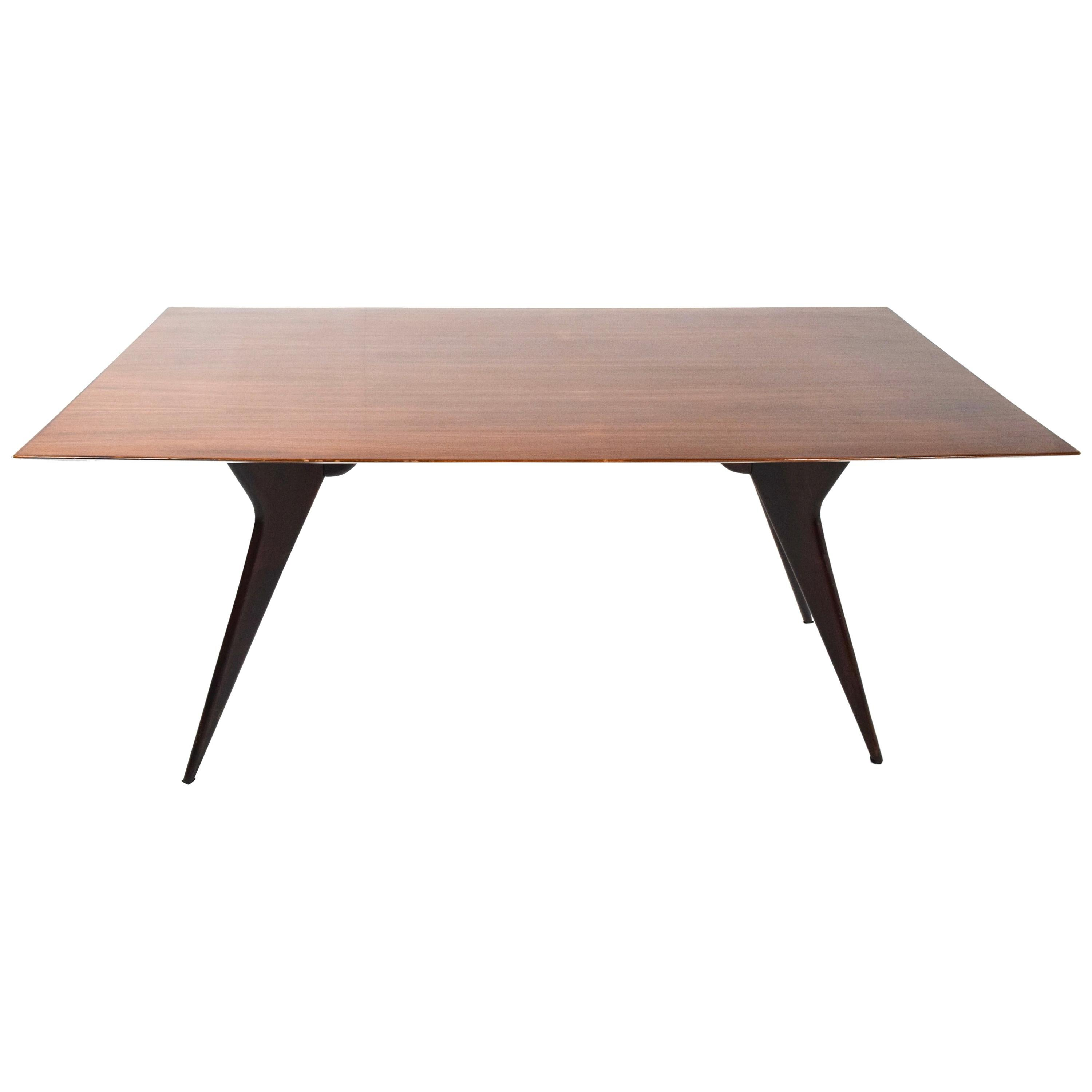 Ico Parisi Dining or Worktable for MIM Roma, Midcentury, Italy, 1950s