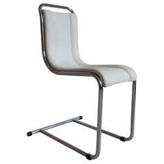Ico Parisi for Fratelli Longhi, Italian Mid-Century Chair in Tubular Metal, 1969