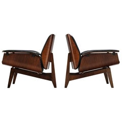 Ico Parisi for MIM Pair of Lounge Chairs