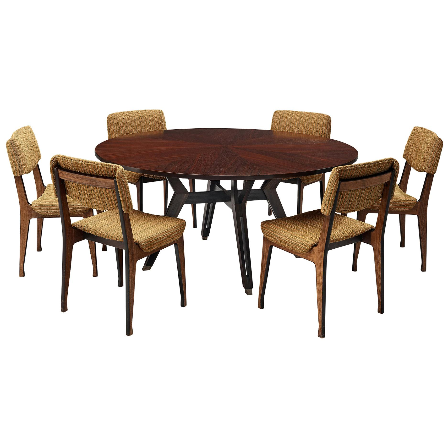 Ico Parisi for MIM Roma Dining Table and MIM Roma Dining Chairs