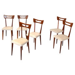 Ico Parisi in the Style Set of Six Chairs