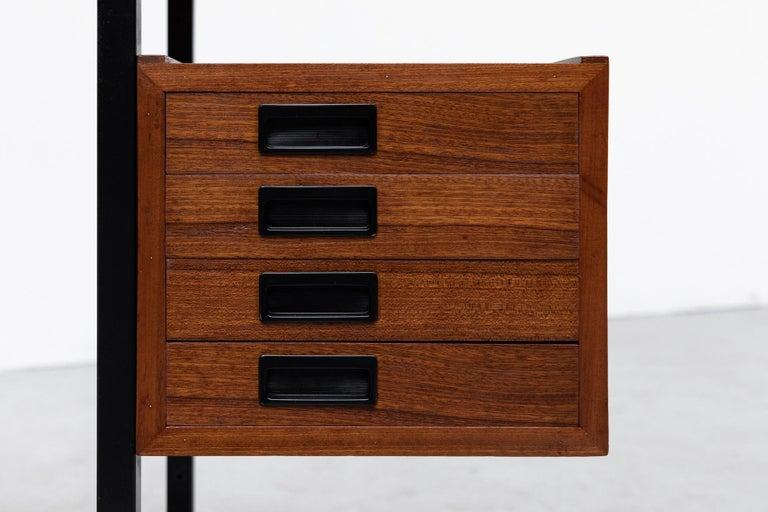 Ico Parisi Inspired Modernest Desk or Vanity For Sale 2