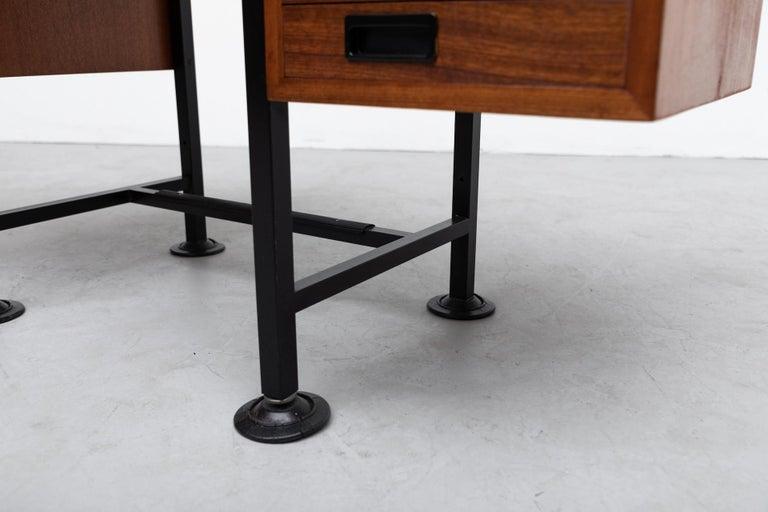 Ico Parisi Inspired Modernest Desk or Vanity For Sale 3