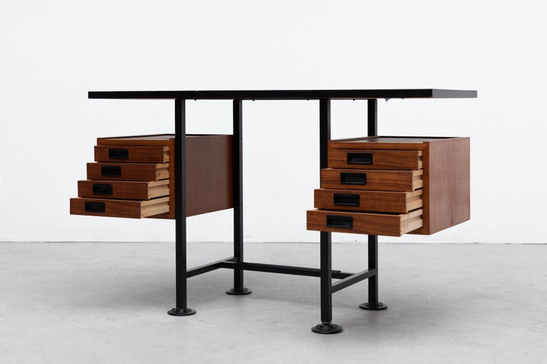 Mid-Century Modern Ico Parisi Inspired Modernest Desk or Vanity For Sale