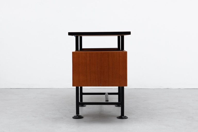 Ico Parisi Inspired Modernest Desk or Vanity In Good Condition For Sale In Los Angeles, CA