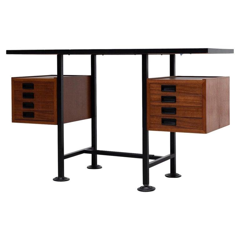 Ico Parisi Inspired Modernest Desk or Vanity For Sale