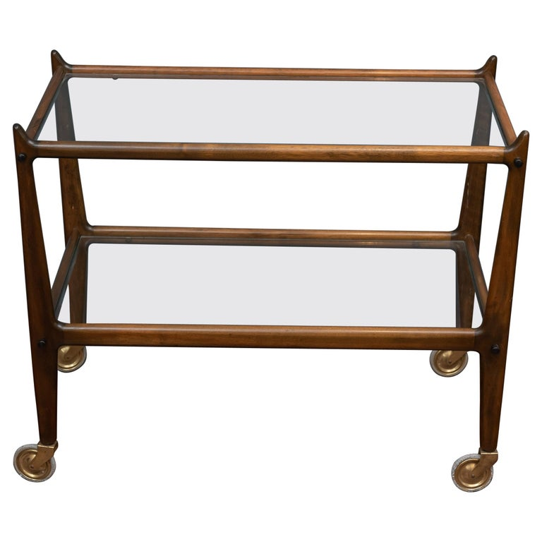 Ico Parisi Italian Bar Cart For Sale