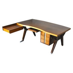 Ico Parisi Italian Midcentury Desk for Mim Roma, 1959