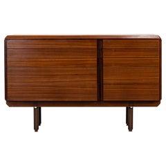 Ico Parisi Mid-Century Wooden Cabinet Italian Manufacture, 1950s