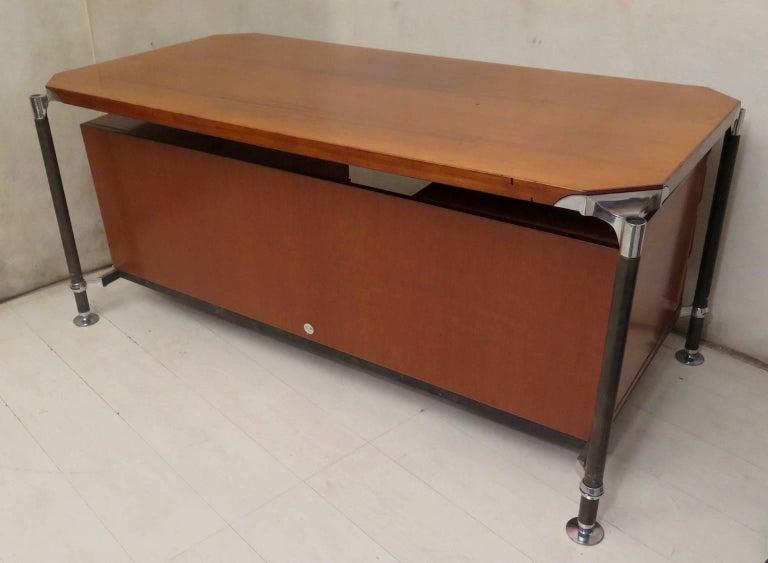 Ico Parisi MIM Roma Italian Midcentury Desk, 1950 For Sale 4