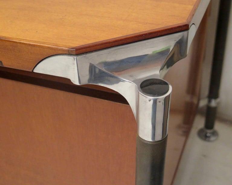Ico Parisi MIM Roma Italian Midcentury Desk, 1950 For Sale 1