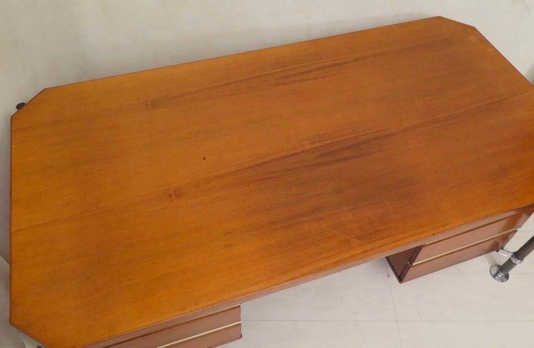 Ico Parisi MIM Roma Italian Midcentury Desk, 1950 For Sale 3