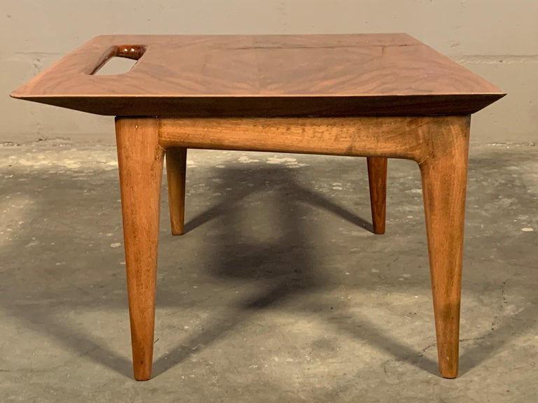 Ico Parisi Nesting Tables, Italy, circa 1950s In Excellent Condition For Sale In St.Petersburg, FL