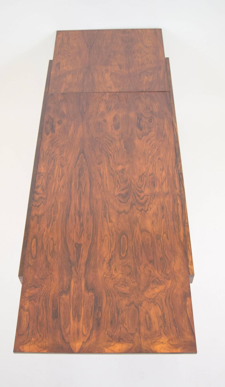 Ico Parisi Rosewood Expanding Dining Table for MIM For Sale 4