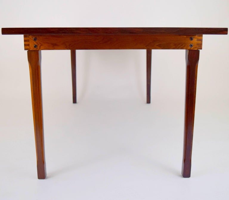 Ico Parisi Rosewood Expanding Dining Table for MIM For Sale 8