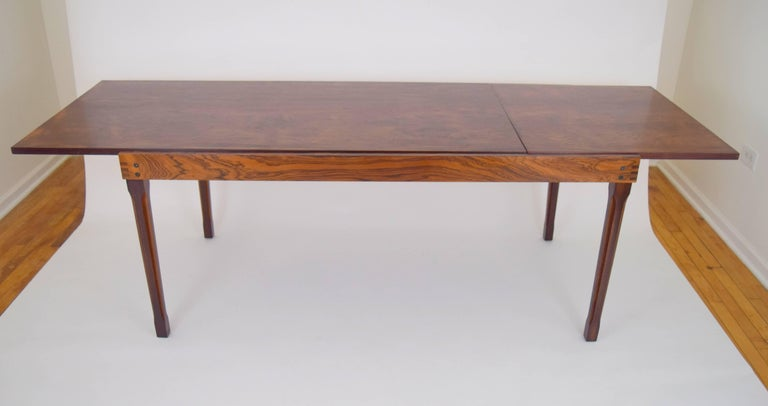 Ico Parisi Rosewood Expanding Dining Table for MIM For Sale 2