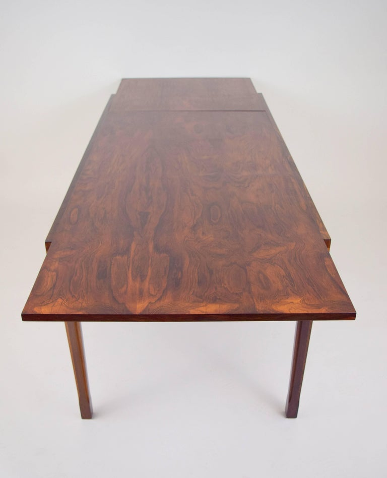 Ico Parisi Rosewood Expanding Dining Table for MIM For Sale 3