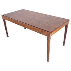 Ico Parisi Rosewood Expanding Dining Table for MIM