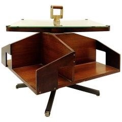 Ico Parisi Rotating Bar Table, Italy, circa 1957