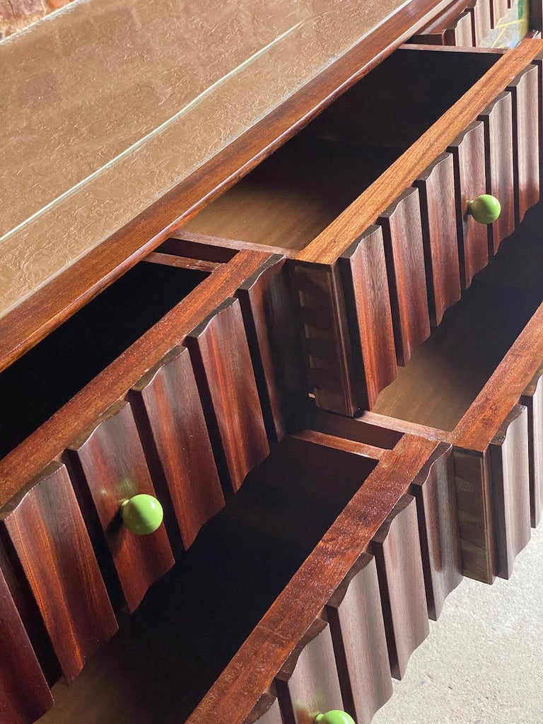 Mid-Century Modern Ico Parisi Walnut Credenza Sideboard, Italy, 1950 For Sale