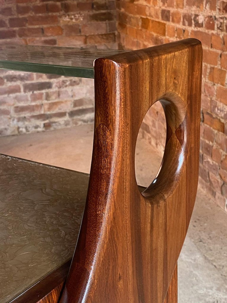 20th Century Ico Parisi Walnut Credenza Sideboard, Italy, 1950 For Sale