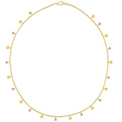 Ico & the Bird Fine Jewelry 'Fan' Sequin 22k Gold Necklace