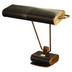 Iconic 1940 Art Deco Modernist Desk Table Lamp Lighting Eileen Gray Jumo French