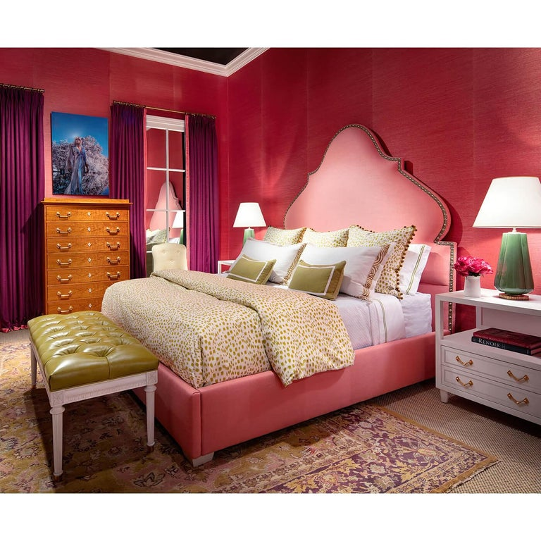 Contemporary Iconic Alhambra King Size Bed For Sale