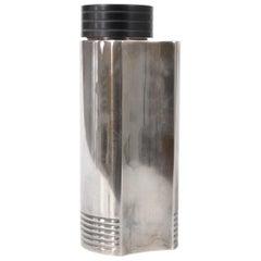 Iconic Art Deco Folke Arstrom Swedish Silver Plated Cocktail Shaker
