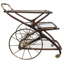 Iconic Bar Cart Attributed to Cesare Lacca