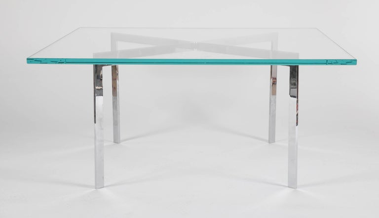 American Iconic Barcelona Coffee Table by Mies van der Rohe for Knoll For Sale
