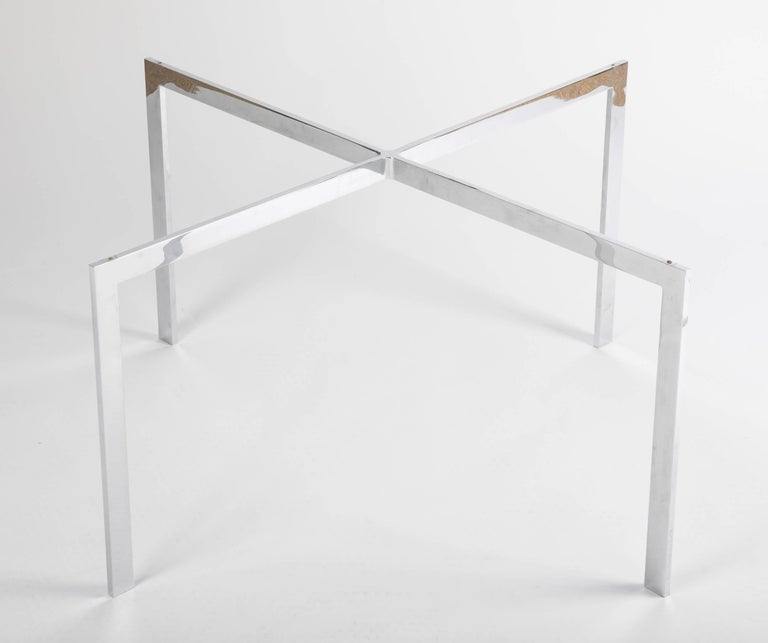 Contemporary Iconic Barcelona Coffee Table by Mies van der Rohe for Knoll For Sale