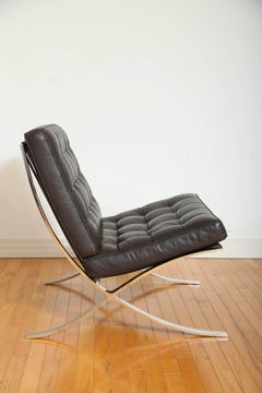 Iconic Barcelona Lounge Chair by Mies van der Rohe for Knoll