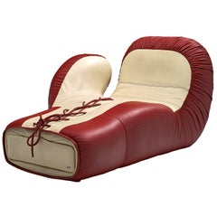 Iconic Boxing Glove Lounge Chair by De Sede